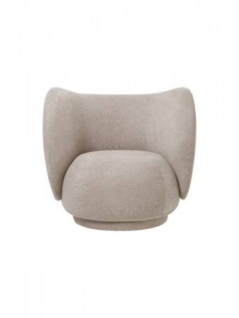 Ferm Living - Rico Salongstol - Boucle